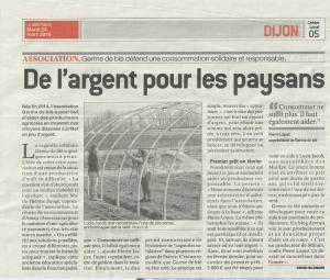 Un projet solidaire qui se concrétise en Bourgogne…
